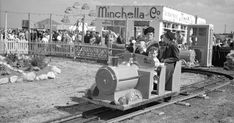 Miniature railway at the Amusement Park South Shields August 1950 Gallipoli Campaign, Victorian Buildings, North East England, Seaside Resort, Sunderland, Local History, Amusement Park, Newcastle, Old Town