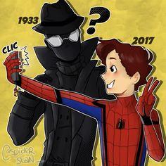 Marvel Fan, Marvel Avengers, Spider Baby, Spiderman Art, The Clash, Spider Verse, Disney Marvel, Amazing Spider, Marvel Characters