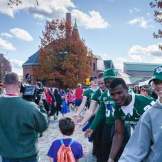 Dartmouth College Shows Strong Support For CHaD #dartmouth #charity #giveback #athletes #greeks