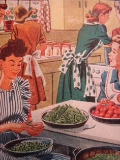 It's always best to keep ladies of all ages in the kitchen.