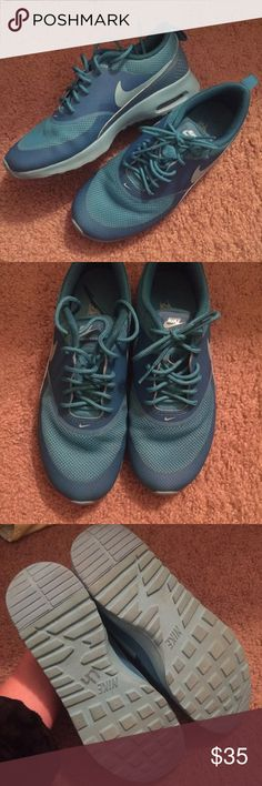 Nike Air Max Thea Women's 7.5. Worn a couple times to the gym. No major flaws. Some dirt on bottoms. See pictures. 8/10 condition. Nike Shoes Athletic Shoes