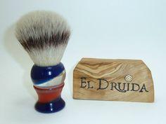 Druida Barberpole resina, Sintetic Silvertip 24 mm - Foro Afeitado
