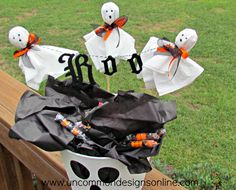 Halloween Treat Buckets by Uncommon Designs