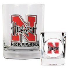 Great American NCAA Rocks and Shot Glass Set - GDRGSSC2330