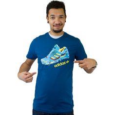 Adidas T-Shirt ZX Trekking blau ★★★★★