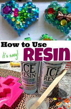 How to Use Resin - It's Easy!