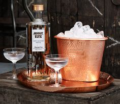 Absolut Elyx Copper Range| Inkorporate | Creative Design & Production for the Drinks Industry