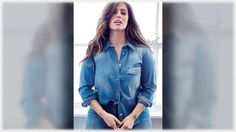 Plus Size Styling Ideas To Steal From Ashley Graham Plus Size Boutique Clothing, Denim Button Up, Button Up Shirts, Ashley Graham, Plus Size Dresses, Clothes, Ideas, Tops, Women