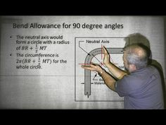 This video is an explanation of the math on the FAA Airframe test. You can learn to bend metal without doing this math - but this video is about doing the ma. Welding Classes, Welding Jobs, Diy Welding, Metal Projects, Class Projects, Welding Projects, Diy Projects, Welding Ideas, Safe Schools