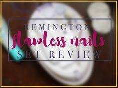 Remington Flawless Nails Manicure Set Review Nail Set, Manicure Set, Party Makeup, Natural Looks, Blog, Inspiration, Biblical Inspiration, Natural Styles, Festival Makeup