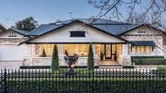 An ultra luxurious bungalow looks to create a new price record for Prospect Character Home, Luxury Garage, Street House, Exterior House Colors, Large Homes, Beach House, Real Estate, Mansions, House Styles