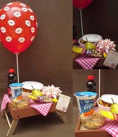 sorpresas Breakfast Basket, Breakfast Platter, Snack Box, Lunch Box, Birthday Hampers, Bouquet Box, Birthday Morning, Chocolate Bouquet, Brunch