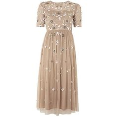 Baby Embellished Shift Dress by Lace & Beads