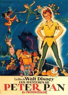 Sujet: Re: [Walt Disney Animation Studios] Peter Pan Sam 17 Déc - - Disney Ideen Walt Disney Movies, Walt Disney Characters, Disney Movie Posters, Film Disney, Art Disney, Disney Animated Movies, Disney Pixar, Walt Disney Pictures, Disney Cartoons