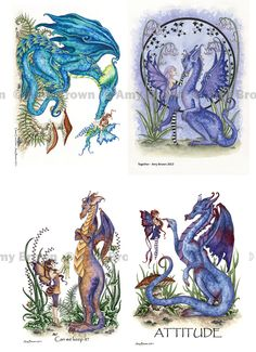 MISC GOODIES - Small Prints Postcards - Amy Brown Fairy Art - The Official Gallery