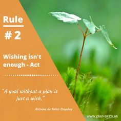 Planning tips - Rule #2
