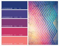 retro color pattern, retro color theme, retro pinks and blues, retro mood board