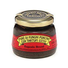 Italian Summer Black Truffle Puree with Porcini Mushrooms