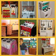 We love repurposing and these DIY Kids Play Kitchens are sure to be a big hit with the family!  Get the details now.