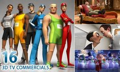 16 Best and Beautiful 3D Animated TV Commercial Videos for you. Follow us www.pinterest.com/webneel