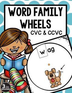 This is a great tool to use during the word work portion of your guided reading lesson. Includes TWENTY-SEVEN word wheels. The following word wheels are included...pg.6 -ab: cab, scab, jab, nab, gab, lab, crab, tabpg.7 -ad: dad, mad, fad, had, bad, pad, glad, sadpg.8 -ag: wag, tag, bag, sag, gag, lag, brag, ragpg. 9 -am: ham, swam, jam, slam, cram, yam, clam, bampg.10 -an: van, man, fan, ran, pan, tan, than, canpg.11 ap #1: map, tap, rap, nap, zap, lap, sap, cappg.12 ap #2: gap, chap, flap…