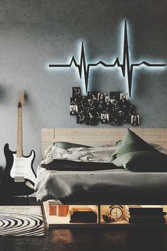 I.K.W.T.I like the heartbeat wall decor