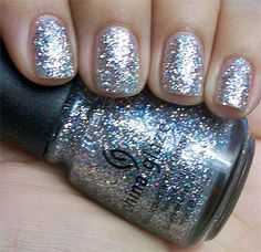 Glitter nail polish china glaze