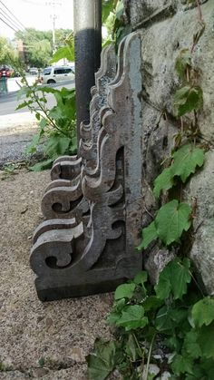 Shabby Antique Corbels by Newstoric on Etsy