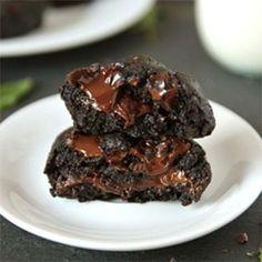 Fresh Mint Double Chocolate Cookies
