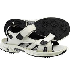 eb1dcf75117c Oregon Mudders Mens Golf Sandals (Beige) Mens Golf Sandals