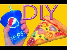 Stress And Pregnancy Diy Arts And Crafts, Easy Crafts, Crafts For Kids, Homemade Squishies, Fake Cupcakes, Kawaii Diy, Stress Toys, Diy Slime, Diy Videos