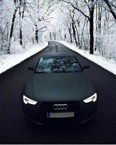 Black isn't a colour it's an emotion .Audi