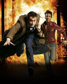 Dr Who. In particular David Tennant. Love. A little obsessed but in my fantasies I spend my days travelling through time with him. Far more interesting than paying a mortgage ... Sigh.