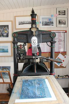 Janice Earley | Lino Printing Process