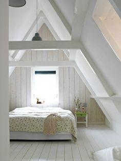 sloping ceiling bedroom