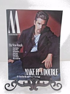 W MAGAZINE OCTOBER 2016 MAKE IT A DOUBLE ISSUE JODIE FOSTER ETHAN HAWK 2 FOR 1