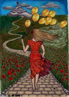 Kapka štěstí, Lenka Filonenko, Colored by Blahona