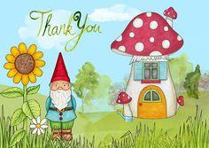Grazie, Si, Carta, Gnome, Casa