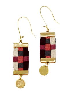 Chessboard Earrings