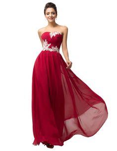 Aliexpress.com: Comprar Plus Size palabra de longitud baile vestidos largos 2016 partido Vestido de noche Vestido de corsé de gasa mujeres vestidos sin mangas CL6107 de vestido de seda fiable proveedores en Twinkle Star
