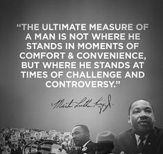In honor of Martin Luther King Jr. and his message, created an image using one of our favorite quotes from Dr. Wisdom Quotes, Quotes To Live By, Life Quotes, Positive Quotes, Motivational Quotes, Inspirational Quotes, Martin Luther King Quotes, Be My Hero, Amor