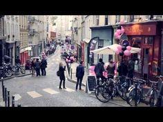 Les cabernets d'anjou s'invite à Paris dans le quartier de montmartre pour célébrer l'art et l'été 2013 #art #wine #paris