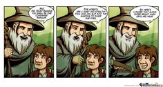 This example of Middle Earth logic.*Technically about the Hobbit, not LOTR. Fellowship Of The Ring, Lord Of The Rings, Into The West, Fans, Bilbo Baggins, Jrr Tolkien, Great Stories, Middle Earth, Lotr