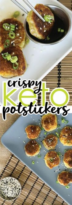 Gluten Free Potstickers Low Carb Keto-Friendly Our Gluten Free Potstickers turn your favorite Asian take-out night into a fun homemade low carb delicious dinner Keto Foods, Ketogenic Recipes, Keto Snacks, Low Carb Recipes, Diet Recipes, Ketogenic Diet, Diet Meals, Cookbook Recipes, Cooker Recipes