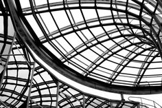 Detail from the roof of the old Forum des Halles, Paris © Kaamna Photography