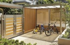 あなたの家に自転車を置くスペースはありますか Outdoor Furniture, Outdoor Decor, Diy And Crafts, Garage Doors, Shed, Exterior, Outdoor Structures, Places, Garden