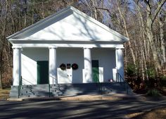 Simsbury Town House (now called Boy Scout Hall) it was Simsbury's 1st town hall - 1839