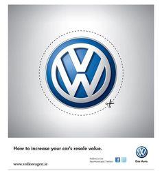 """ANUNCIO MUY IRÓNICO (VW). """"Como aumentar el valor de reenventa de tu coche""""."""