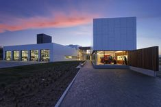 Built by Cibinel Architects in Brandon, Canada with date 2010. Images by Mike Karakas. The dynamic new 30,000 sq ft Brandon Fire and Emergency Services Building validates the idea that a primarily utilita...