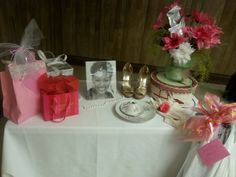 My Pretty in Pink and Pearls Tea Party was so beautiful.  I LOVE MY CHURCH! Thanks FWAI.